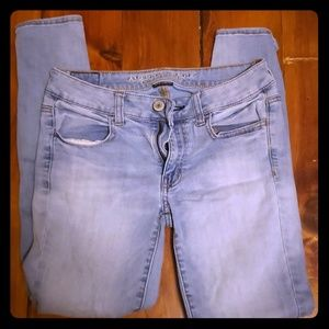 Anerican Eagle size 6 jeans jeggings